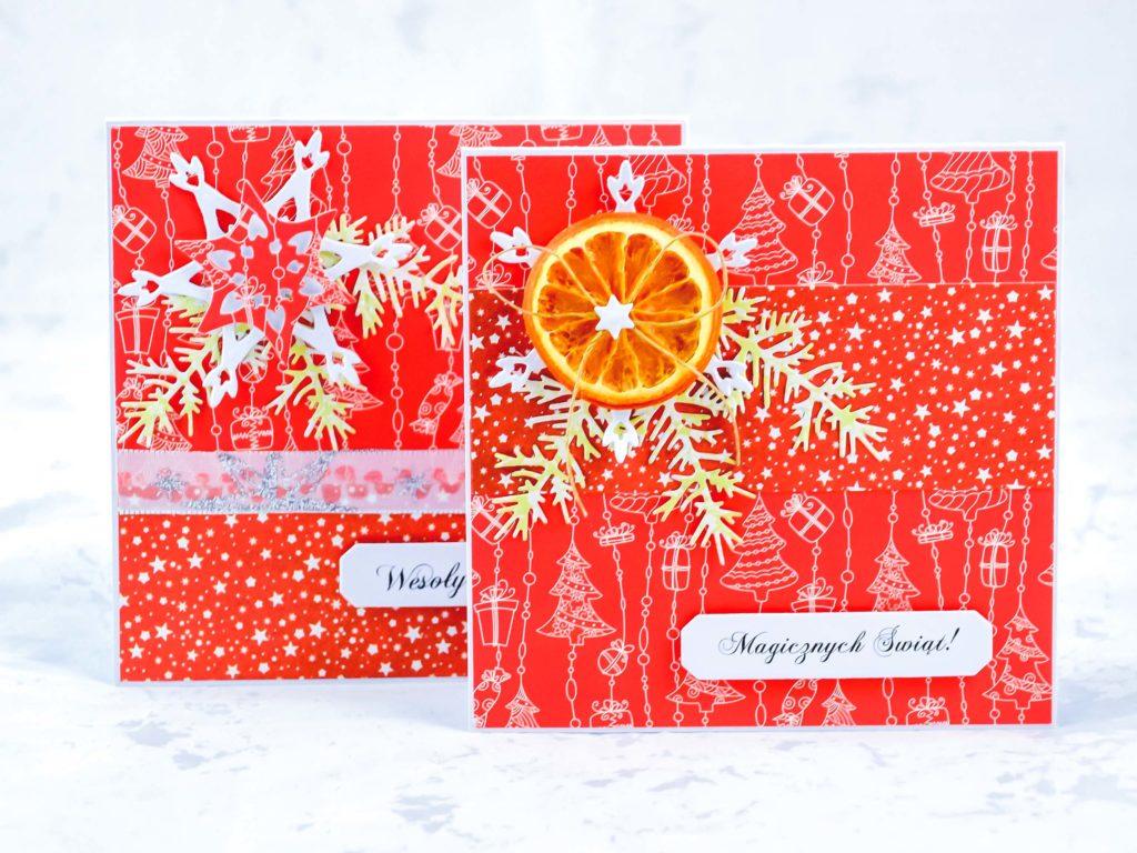 kartki świąteczne diy - kartki na Boże Narodzenie