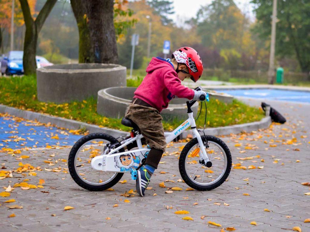 eunika jedynak scrapbooking rodzina wartości rower syn jesień