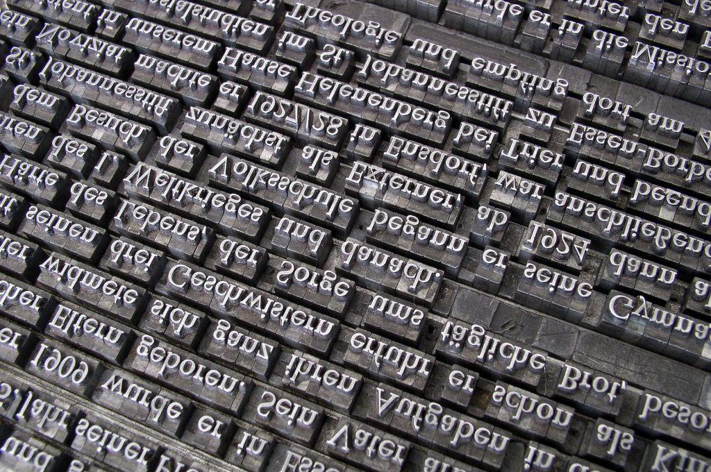 czcionka drukarska czcionka czy font eunika jedynak