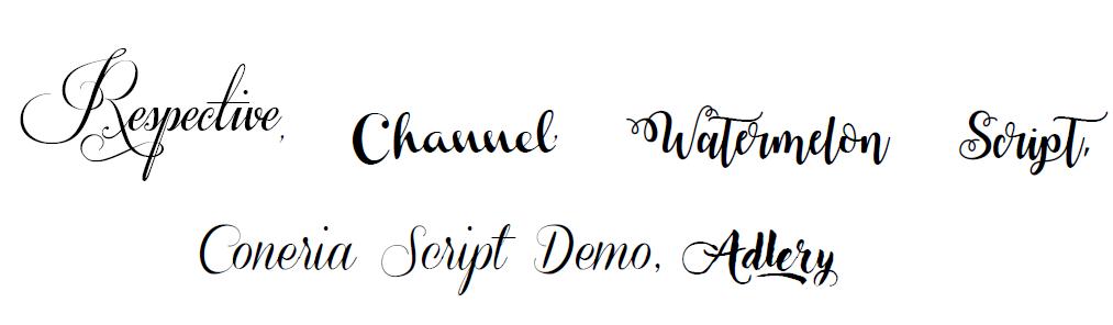 czcionki komercyjne fonty do użytku komercyjnego lista fontów do pobrania